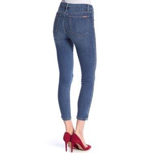 Joe's Jeans The Charlie Braided Ankle Skinny Jeans